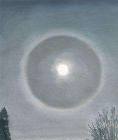Double Sun by Luc Tuymans