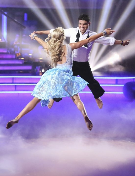 Lindsay Arnold and Victor …