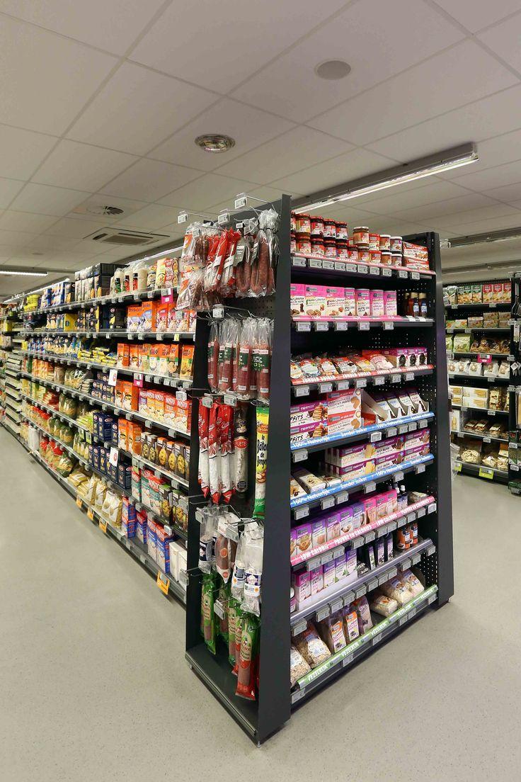 mobilier TG distribution alimentaire, supermarché