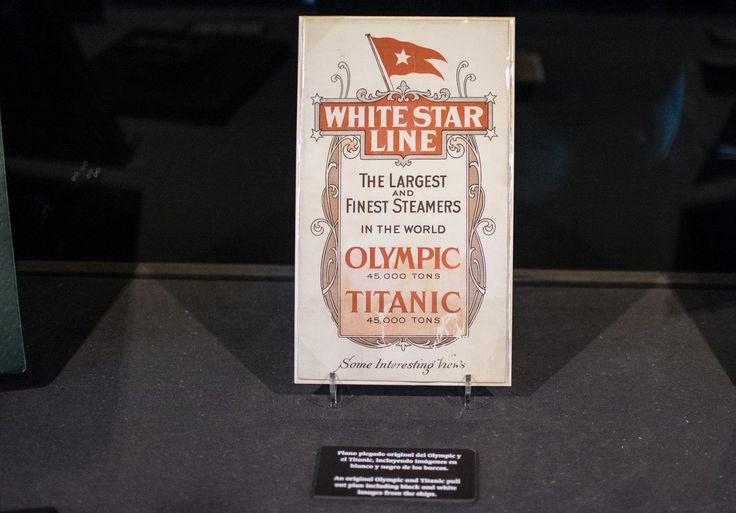 Exposición en Madrid de los restos del Titanic. | LD/David Alonso Rincón