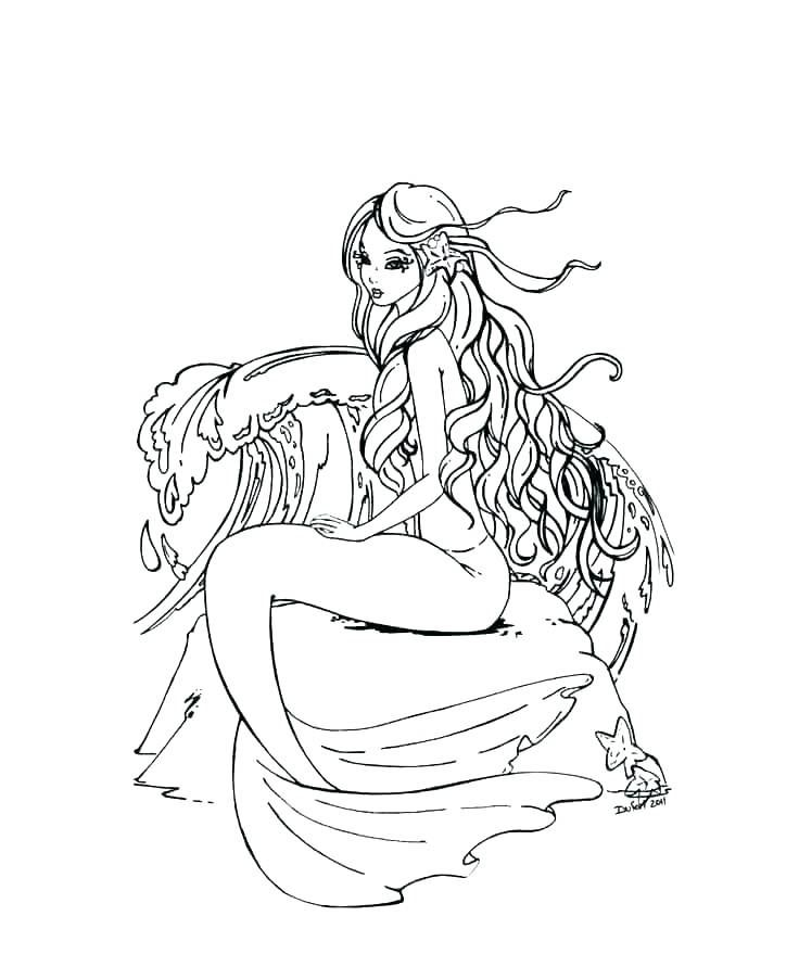 Pin By Casualthings On Tattoo Portraits Mermaid Coloring Pages Mermaid Coloring Mermaid Coloring Book