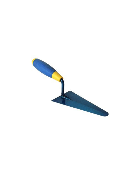 trowel square share rubber anatomic handle steel plate