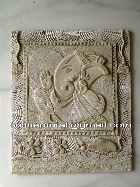 Pin by ruchi gupta on clay murals pinterest murals for Clay mural tutorial