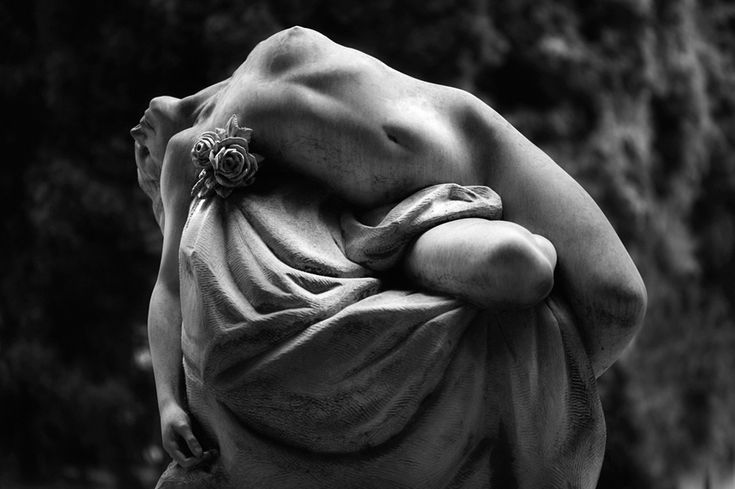 The monumental Cemetery of Staglieno, Genoa, Italy.
