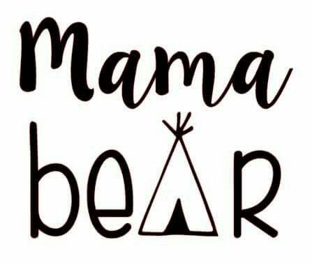 Mama bear shirt design