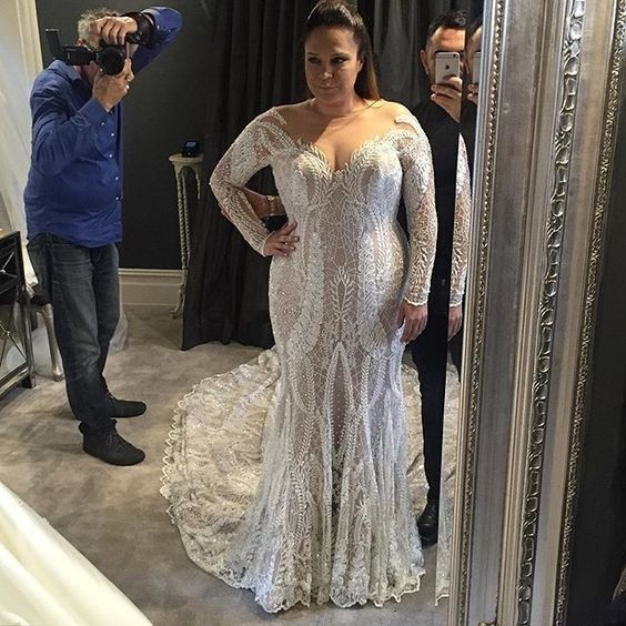 Collection robe de mariée Steven Khalil : des robes de luxe sexy   modèle grande taille