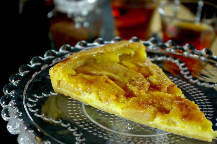 Γλυκιά τάρτα με μήλα