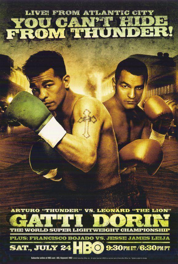 Arturo Gatti vs Leonard Dorin 11x17 Boxing Promo Poster (2004)