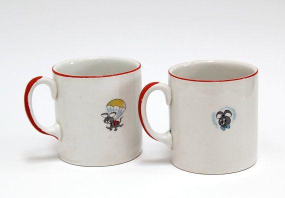 Tasses Vintage Ridgway Potteries Ltd