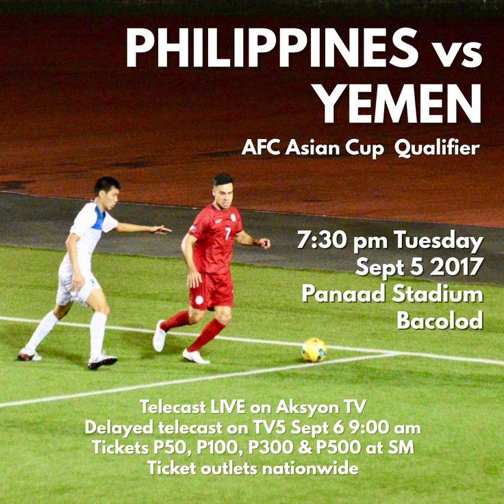 Filipino Football: AFC Asian Cup Qualifier : Philippines vs Yemen