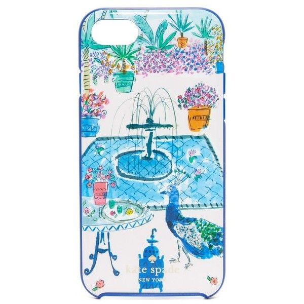 Kate Spade New York Jeweled Garden iPhone 7 Case (1 215 UAH) ❤ liked on Polyvore featuring accessories, tech accessories, multi, apple iphone case, jeweled iphone cases, kate spade iphone case, iphone hard case and kate spade