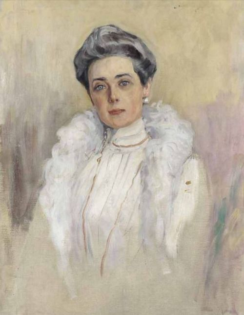 """lesyoussoupoff: """"Princess Zenaida Youssoupoff by Valentin Serov 1902 """""""