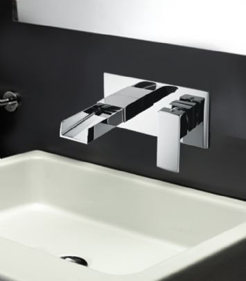 Tec Studio Z Waterfall Bathroom Taps Complete Range | Bathroom Taps at Bathshop321
