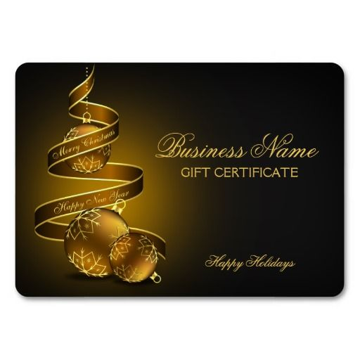 42 best Christmas And Holiday Gift Cards images on Pinterest - christmas gift certificates templates
