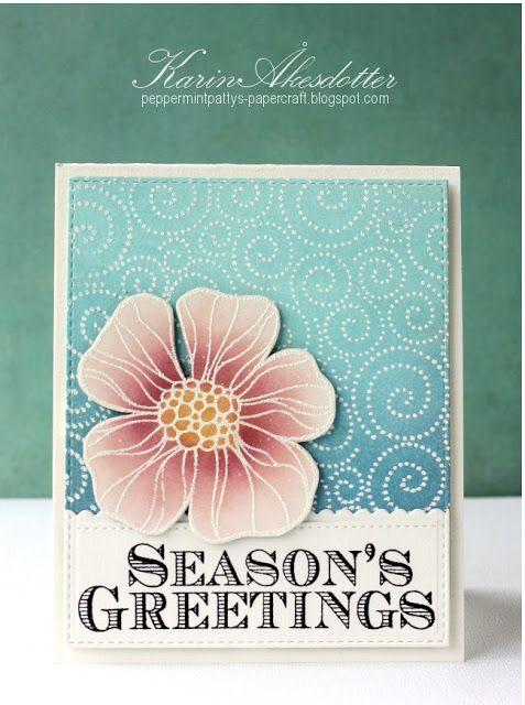 Season's Greetings - Christmas Rose