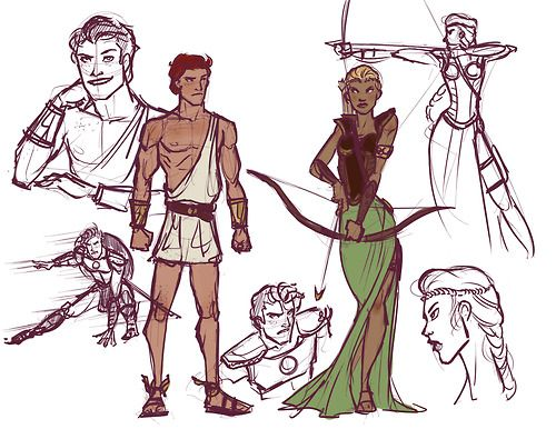 picture of young justice wally and dick fan art - Google Search