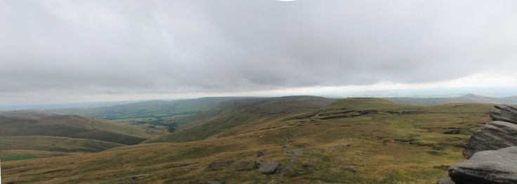 View from Edale Rocks - Day 1