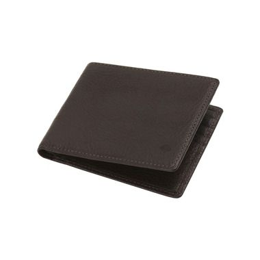 8 Card Wallet in Chocolate Natural Leather | Men's | Mulberry
