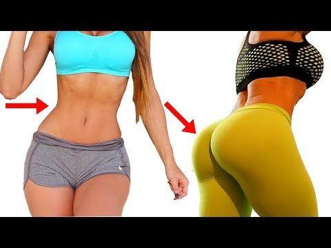 ✬PERNAS GROSSAS & BUMBUM DURINHO✬ 5 Min de TREINO em CASA! Exercícios Para Aumentar Pernas e Gluteos - YouTube