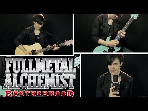 Fullmetal Alchemist: Brotherhood - Again (English Cover) [1st Op] - YouTube                                                      Kids these days....are so freaking talented!