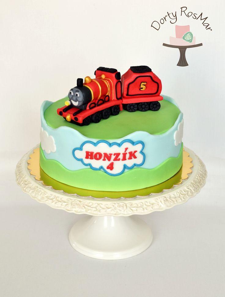 Train James cake