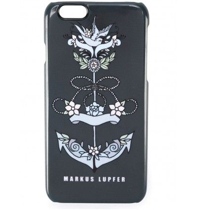 Black 'Anchor' iPhone 6 case from Markus Lupfer.