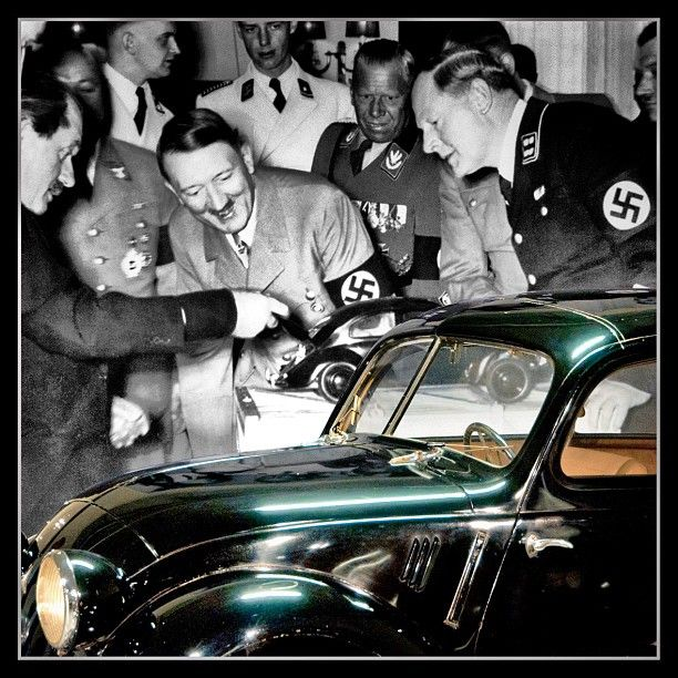 Today in WW2 history: 2/26/1936 Adolf opens 1st VW plant in Germany w/ Ferdinand…