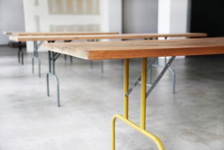 Expecting more company than usual? We can relate. During the winter holidays (and every summer, too), we find ourselves in need of folding tables. Here are
