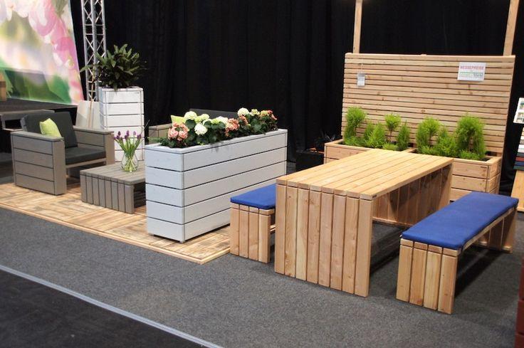 ber ideen zu pflanzkasten holz auf pinterest pflanzkasten palettengartenmauern und. Black Bedroom Furniture Sets. Home Design Ideas