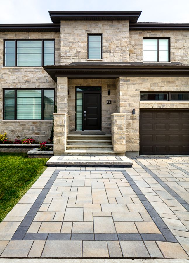 Driveway inspiration for contemporary and modern homes ...