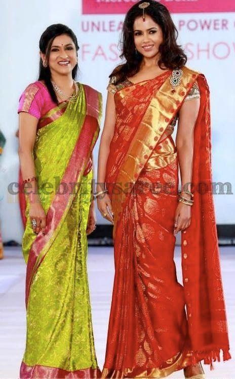 Sameera Reddy Bridal Saree Ad | Saree Blouse Patterns