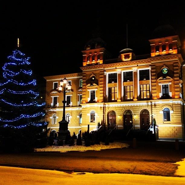 Beatiful Townhall of Oulu cc @Stephen Sutton