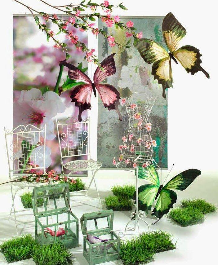 Creation vetrina idee vetrina primavera 2014 idee - Idee per vetrine primaverili ...