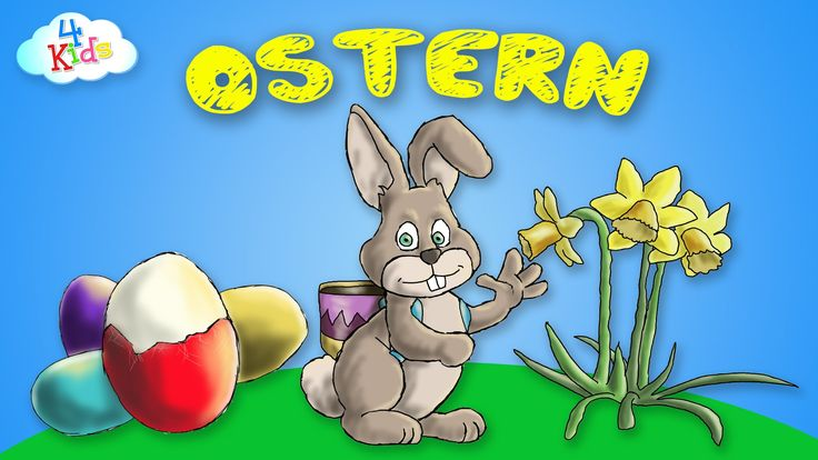 Ostern - Osterbegriffe rund um die Osterfeiertage lernen für Kinder und ...