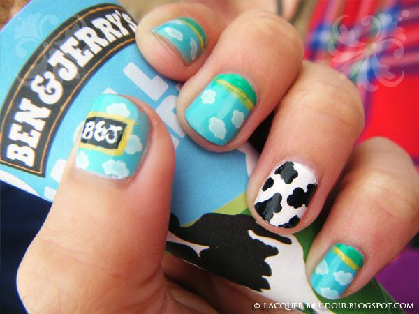 Ben & Jerry's Nails