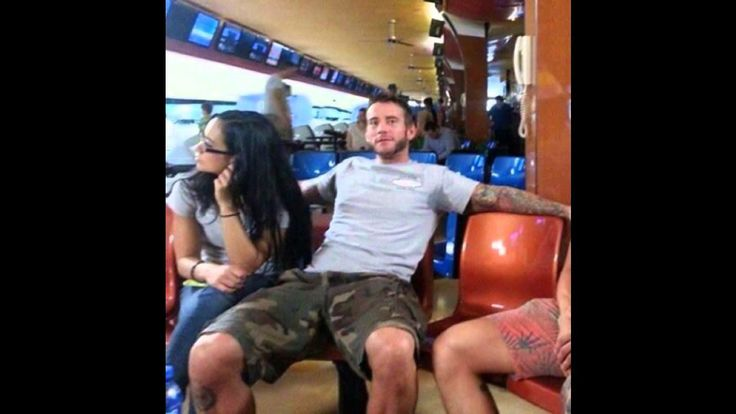 aj and cm punk dating in real life