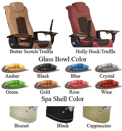 Comfortable and stylish spa pedicure chairs in wholesale prices