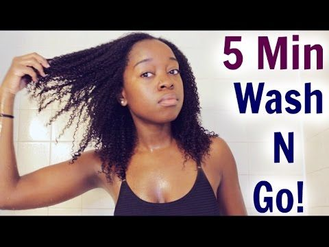 Effortless Wash N Go [Video] - http://community.blackhairinformation.com/video-gallery/natural-hair-videos/effortless-wash-n-go-video/