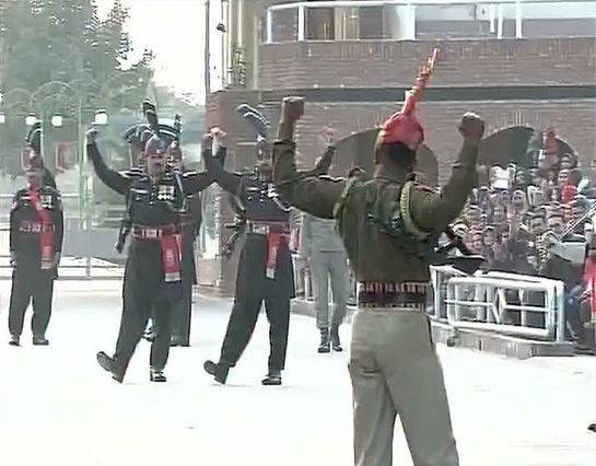 So Republic Day of our country is arrived , a day when our constitution came into force. It is a day when in our childhood days we used to wakeup early and sit in front of TV to watch live prade. This is one of most special day for India in history and findout how our great soldiers celebrate this day in border. Perfect posture! The soldiers show a lot of respect even to their counterparts from the opposite country.