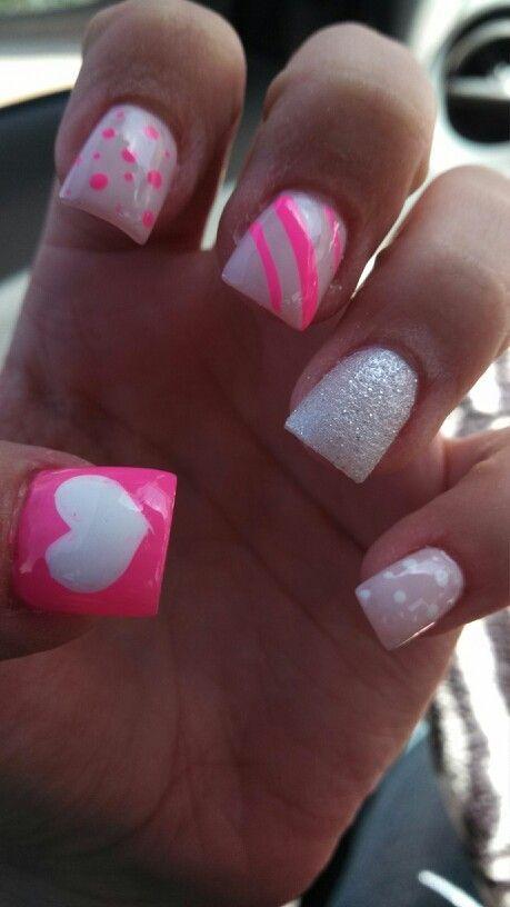 Cute nails! #simple #nail #design Nails | Nail simple nail designs