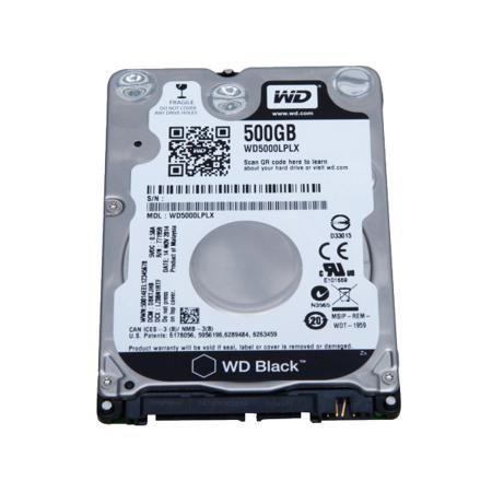 """Western Digital WD5000LPLX  — 3225 руб. —  2.5"""" винчестер Western Digital Black имеет достаточно места для требующих большого дискового пространства операционных систем, больших массивов фотоснимков, фильмов и музыки.  Благодаря скоростному интерфейсу SATA достигается скорость передачи данных 6 Гбит/с, что обеспечивает максимальное быстродействие устройства."""