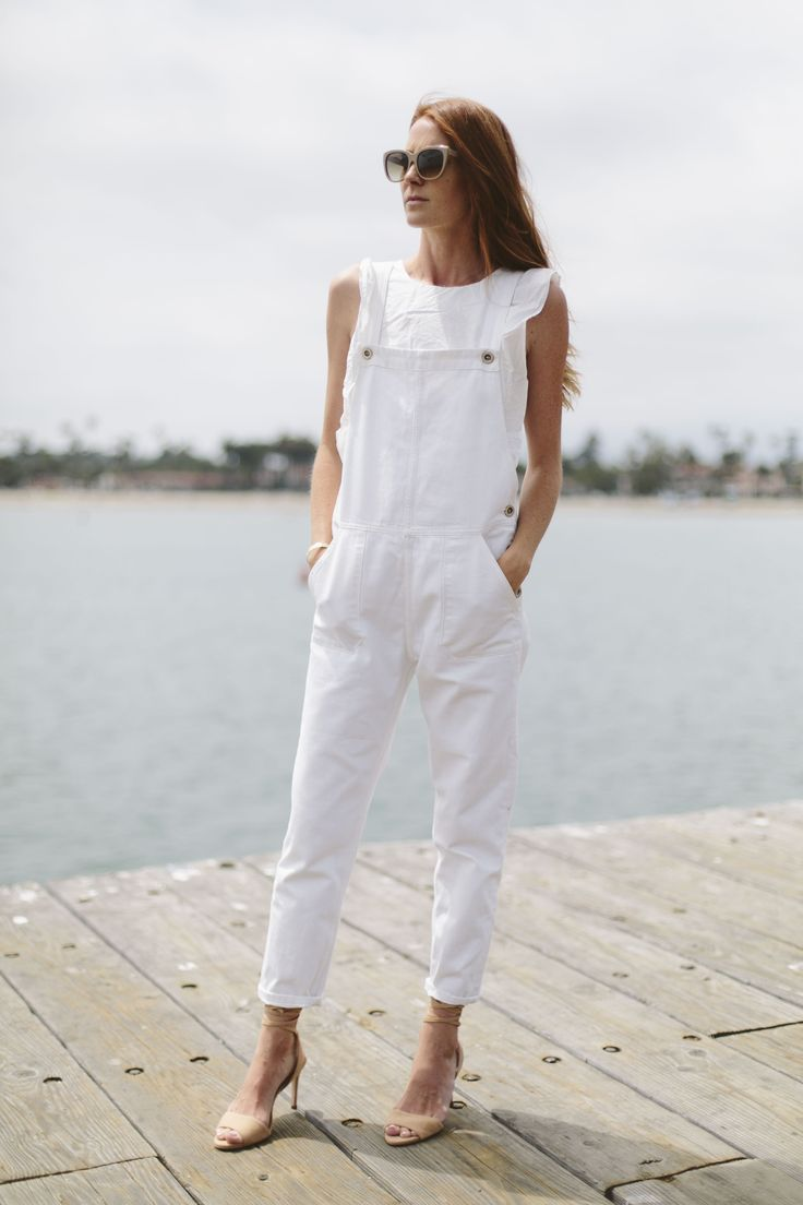 White Overalls via could i have that?