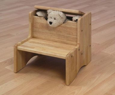 Beautiful Step Stool With Storage.
