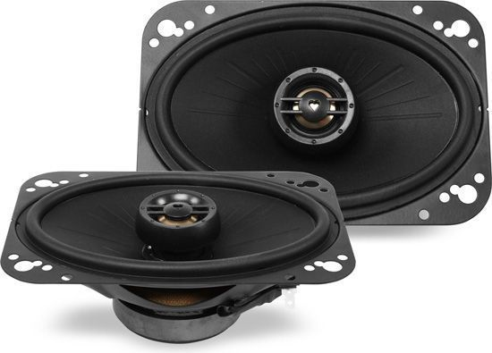 Polk Audio DXi461 80W RMS 4 x 6 DXi Series 2-Way Coaxial Car Stereo Speakers