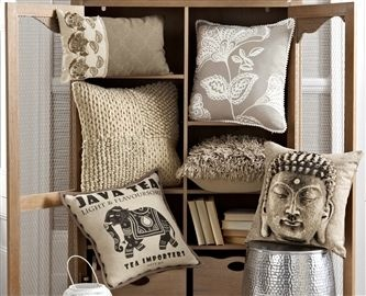 Bali and Patchwork Cushions