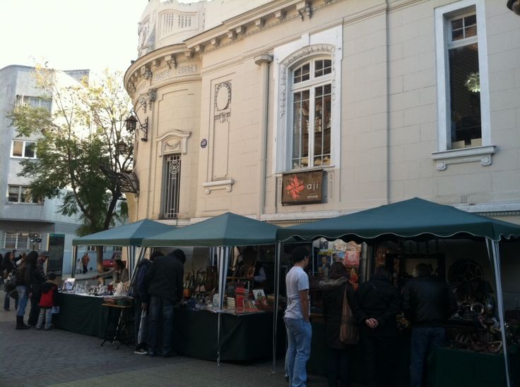 Shopping in Santiago, Chile