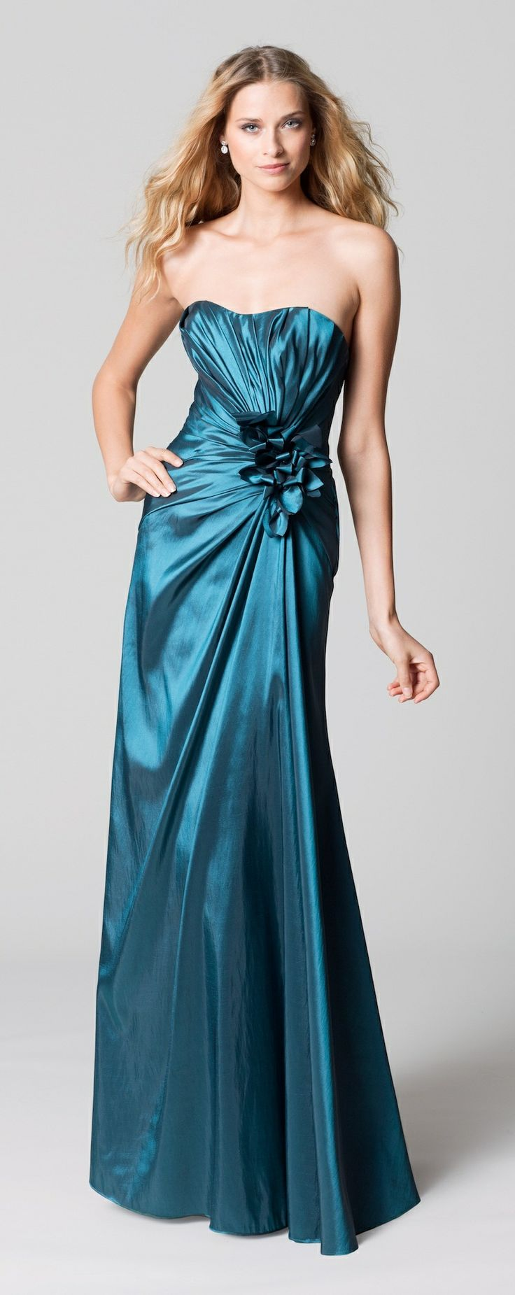 14 best Gray/Silver Bridesmaid Dresses images on Pinterest | Bridal ...