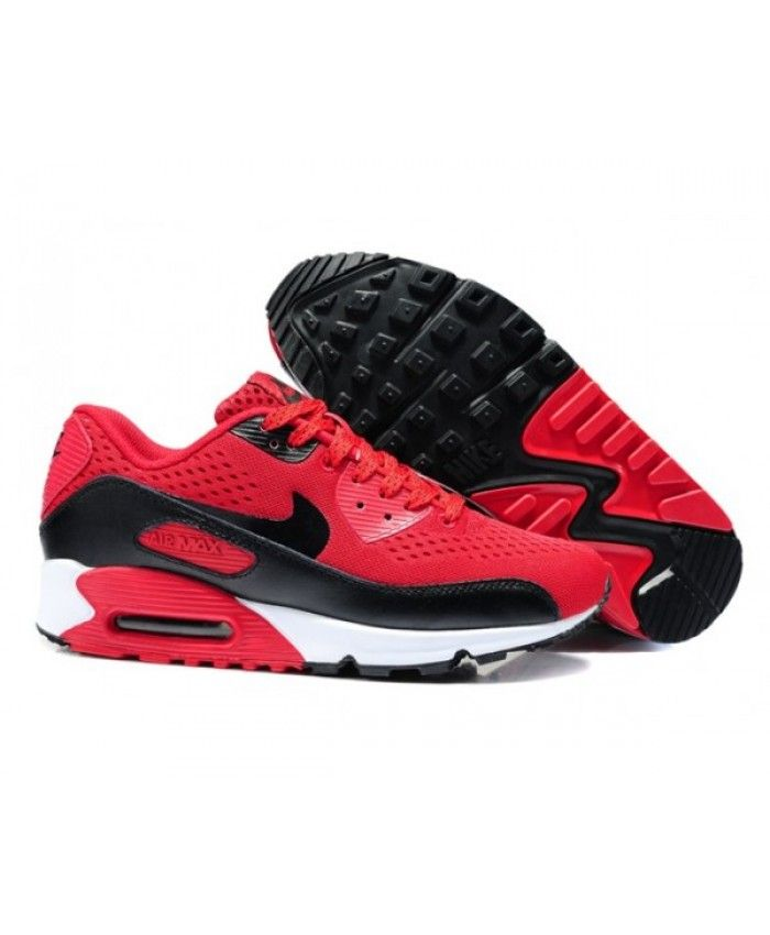 check out 96276 13a99 Mens Nike Air Max 90 Em 2014 Red Black 6809331-166
