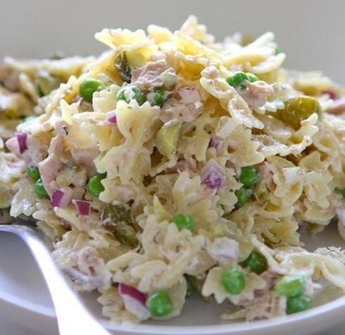 Salade de pâtes au thon