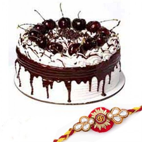 Rakhi is most purest and emotional bonding between two persons brother and a sister. On such a joyful occasion make a Rakhi Online Vizag to your brother who is away from you. Cake melts your brother heart if he is a lover of chocolate flavour and with this you can give him a wish for his well being by sending a rakhi through shop2Vizag.com